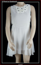 Baby Doll White Dress / Top Size 24