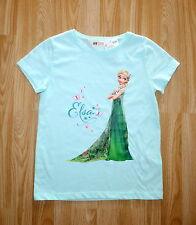 H&M EISKÖNIGIN ELSA T-Shirt, Baumwolle, Gr. 134/140, NEU