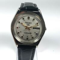 Vintage Seiko Automatic Movement Day Date Dial Mens Wrist Watch CA222