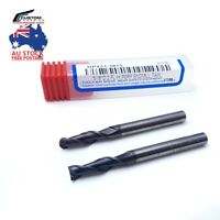 Carbide Endmill, 2 Flute HY-PERFORMANCE TiAlN Square & Ballnose  (1mm- 20mm)