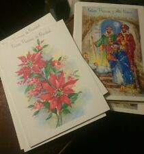 Group  of 36 New Vintage Mainzer  ITALIAN Language Xmas Cards