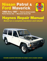 Nissan Patrol 1988-1997/Ford Maverick GQ/DA 1988-1994 Repair Manual