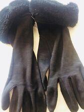 Ladies Fur Trimmed Gloves From Beauty International Ltd