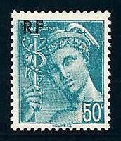 varietà- N°°:660 (di carta asta vertical)-tipo Mercurio- francobollo Nuovo