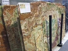 Tischplatte Onyx Verde Pakistano Platte Couchtisch Sideboard Naturstein Marmor
