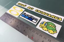 Visor Decals Stickers for Rossi Helmet (New) (5 Stickers)
