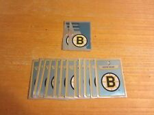 Boston Bruins Lot of 14 Foil Logo Hockey Stickers NHL