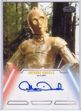 Star Wars Jedi Legacy 2013 - ANTHONY DANIELS as C3PO - Autograph