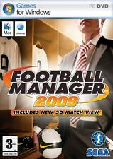Football Manager 2009 PC Mac Windows Vista Windows XP