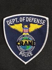 DEPT. OF DEFENSE POLICE EMBROIDERY PATCH--B03