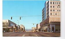 Everett WA Street Scene Postcard 1960s