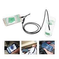 USB Endoscope, Depstech 2 in 1 Semi-rigid Borescope Inspection Camera 2.0 Megapi