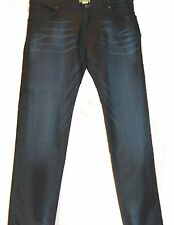 Versace Jeans Navy Men's Casual Italy Pants Trouser Jeans Size 38 NEW Tailored