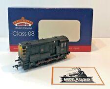BACHMANN 00 GAUGE - 32-110Z - CLASS 08 DIESEL BR BLACK WEATHERED (MODEL RAIL)