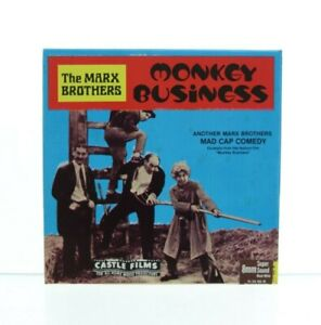 SUPER 8 SOUND-CASTLE FILMS The Marx Brothers MONKEY BUISINESS