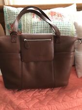 lily jade Madeline diaper bag in brandy leather a101f82568b57