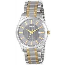 Timex T2N799, Men's 2-Tone Bracelet Watch, Date, 30 Meter WR, T2N7999J