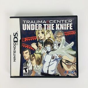 Trauma Center: Under the Knife (Nintendo DS, 2005) Complete with Manual - Tested