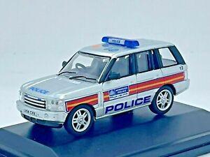 Oxford Diecast 76RR3004 1/76 Range Rover 3rd Generation 'Metropolitan Police'