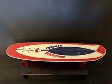 🏂 Skateboard vintage 70´er Jahre Fiberglass original Sammler Stück Collector