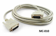 10ft DB15 Male/Male 15-Conductor Shielded Cable / Cord, CablesOnline MC-010