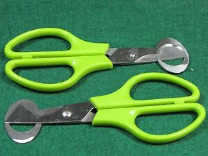 Stainless Steel Quail Egg Scissors 10 Pack USA SELLER - FREE n FAST SHIPPING