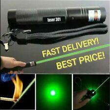 Alta Potencia lápiz puntero láser verde 301 Foco Ajustable 532nm Burning Lazer 1mW