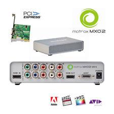 Matrox MXO2 Mini I/O-Box f. Desktop  HDMI 8 channel Audio, analog YC u.v.m.
