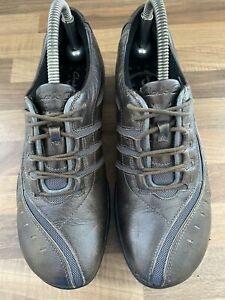 LADIES CLARKS SHOES SIZE UK 6.5  EUR 39.5 'WAVE LACE UP COMFORT SHOE'