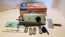 Vintage Greist The Buttonholer Model #7 & Singer Sewing Machine Needles 30cent