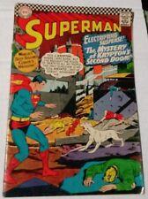 "Superman #189 1966 ""Electrifying Suspense"" Fine Condition"