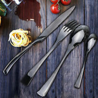 Stainless Steel Dinnerware 4 Piece Cutlery Set Knives Fork Spoon Teaspoon KAYA
