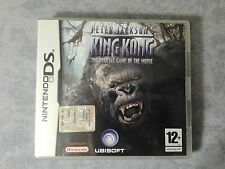 PETER JACKSON'S KING KONG OFFICIAL GAME - NINTENDO DS 3DS 2DS ITALIANO COMPLETO