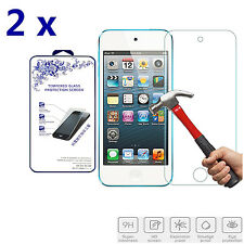 2x For iPod Touch 6th Generation [ Tempered Glass ] Screen Protector 9H