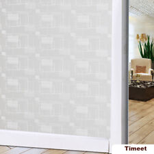 Static Cling Cover Frosted Window Film Sticker Privacy Glass Window Film Decor