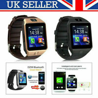 2019 DZ09 Bluetooth Smart Watch Phone +Camera SIM SLOT For Android IOS Phones M3