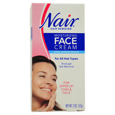Moisturizing Face Cream For Upper Lip Chin And Face Hair Removal by Nair for Wom