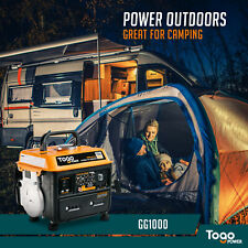 FOR EMERGENCY BACKUP 800/1000-WATT GASOLINE POWERED PORTABLE ELECTRIC GENERATOR
