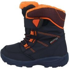 Kamik Stance Schuhe Kinder Winterstiefel Boots Stiefel navy flame NF9125-NFL