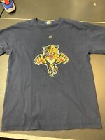 Mens Vintage NHL FLORIDA PANTHERS Graphic T Shirt size M Reebok Rostislav Olesz