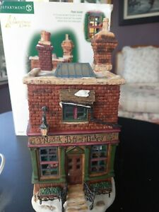 Dept 56 Christmas Village Norfolk Biffins Bakery 58491