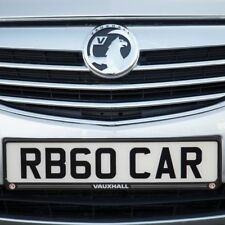 Richbrook Official Licensed Product Vauxhall Number Plate Surround Front / Rear