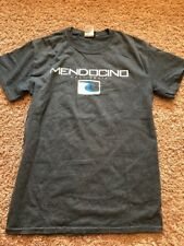 Mendocino California Ocean Waves T Shirt Adult Small Blue 84