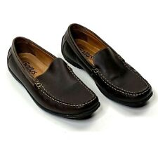 Gallus Mens Driver Moccasins Shoes Brown Leather Loafers 311091 US 8 D EUR 41