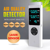 Air Quality laser Monitor HCHO TVOC PM2.5 PM10 Formaldehyde Detector Tester