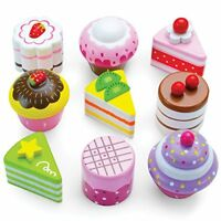 Wood Eats! Delectable Desserts Petit Fours | Food Toys Pretend Play