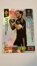 Panini Champions League 2010/11 Limited Edition CASILLAS Adrenalyn XL REAL 2011