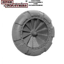Zinge Industries Fans Large 30mm Detailed x5 Scenery Conversion Bits New S-FAN02