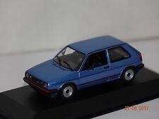 VW Golf II GTI 1985 blau metall 1:43 MaXichamps Minichamps 94005412o neu & OVP