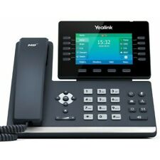 More details for yealink t54w wifi voip/sip phone, 10-lines, 2xgigabit ports, poe, colour screen